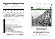 ib_2001_Aprile n - Federazione Esperantista Italiana