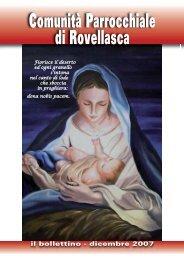 Natale 2007 - Parrocchia dei Santi Pietro e Paolo di Rovellasca
