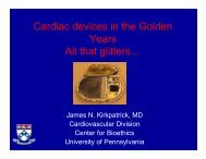 Cardiac devices in the Golden Cardiac devices in the Golden Years ...