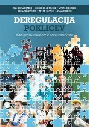 DEREGULACIJA POKLICEV - HRM revija