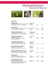 Weißwein - MichaeliGarten