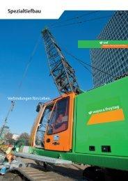 Spezialtiefbau - Wayss & Freytag Ingenieurbau AG