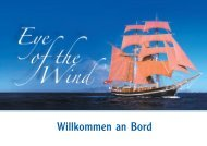 Willkommen an Bord - Eye of the Wind
