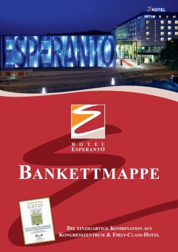 nur Esperantohalle, Waideshalle und Plaza Esperanto