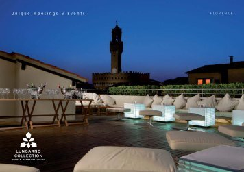 Download the brochure - Lungarno Hotels Collection