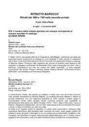 RITRATTISTICA ROMANA NEL '600 - Artelab