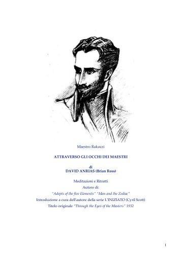Attraverso gli occhi dei Maestri.pdf - Istituto Cintamani