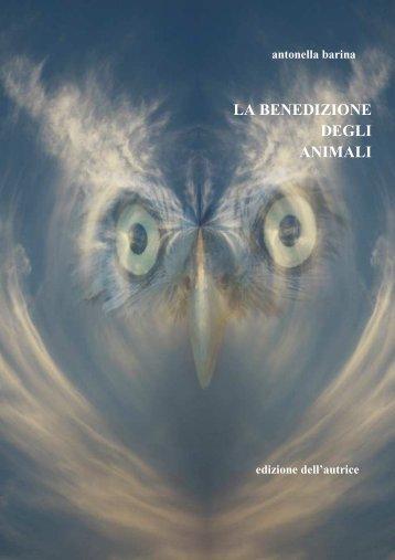 Benedizione degli animali .pdf - Antonella Barina