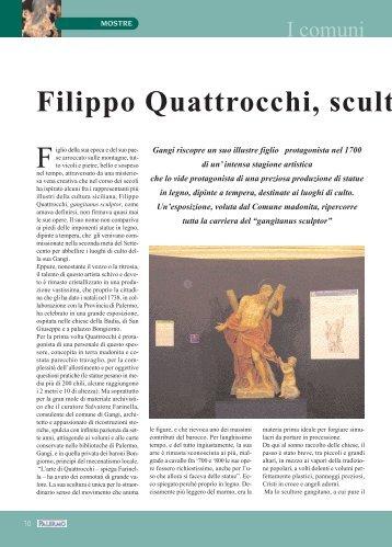 Filippo Quattrocchi, scultur - Provincia di Palermo