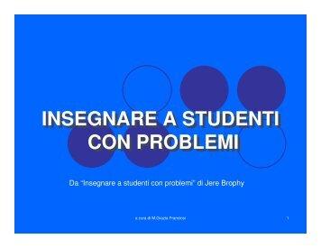 tipologie di problemi - Istituto Comprensivo Montefiorino
