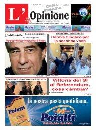 L'Opinione n°11 del 15-06-2011 - teleIBS