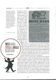 GIAROLA, A., Miss Baba stella degli elefanti,
