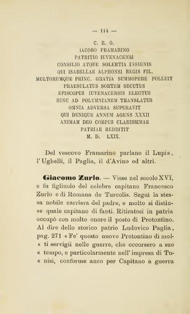 Memorie storiche degli uomini illustri della città di giovinazzo ...