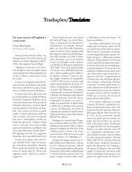 Traduįões/Translations - Unicamp