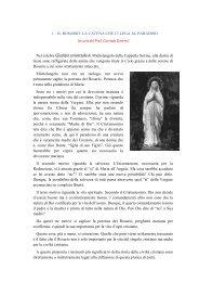 Il Rosario. Catena che ci lega al Paradiso - Suore Francescane ...