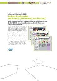 Casestudy Roche-HRCMS (D) - Milch & Zucker AG
