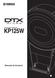 KP125W Owner's Manual - Yamaha