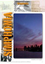 Simphonia - Notiziario C.M.D.M. - Anno III, Numero 3, Novembre 2008