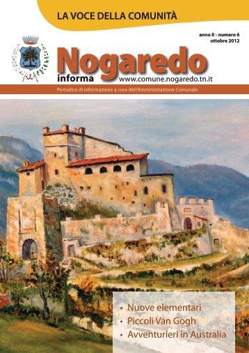 Nogaredo Notizie n6.pdf - Comune di Nogaredo