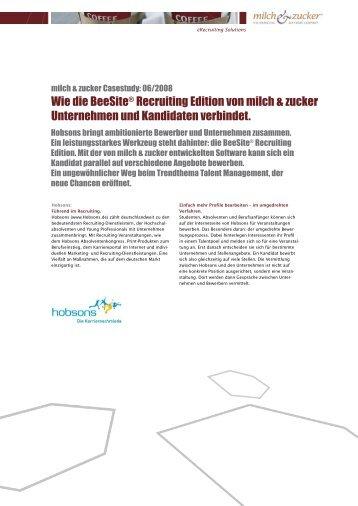 Case Study Staufenbiel Institut GmbH - BeeSite ... - Milch & Zucker AG