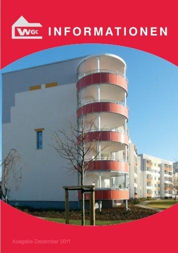 Mitgliederzeitschrift 2011 - Wohnungsgenossenschaft Coswig eG