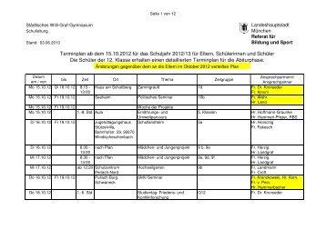 finden Sie die Termine ab 15.10.2012 für das Schuljahr 2012/13 im ...