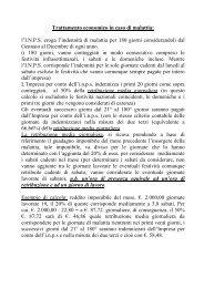 Trattamento economico in caso di malattia - Fillea Cgil Roma e Lazio