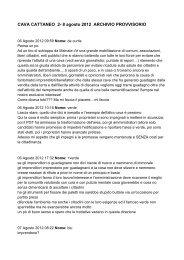 CAVA CATTANEO 2- 8 agosto 2012 ARCHIVIO PROVVISORIO - Malnate.org