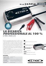 LA RICARICA PROFESSIONALE AL 100 %