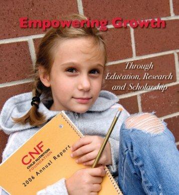 Empowering Growth - School Nutrition Association