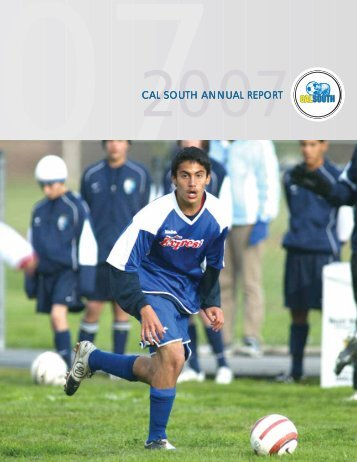 CAL SOUTH ANNUAL REPORT