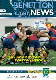 pag. 16 - Benetton Rugby Treviso