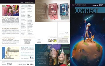 LASM Connect—March 2013 Issue - Louisiana Art & Science Museum