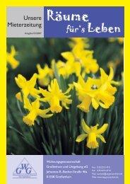 Ausgabe 03/2007 - Wohnungsgenossenschaft Großenhain und ...
