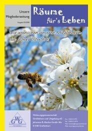 Ausgabe 05/2008 - Wohnungsgenossenschaft Großenhain und ...