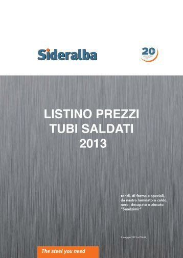 Download listino