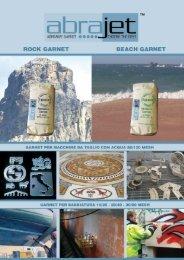 Catalogo Italiano - Sabbie abrasive per taglio ad acqua e sabbiatura