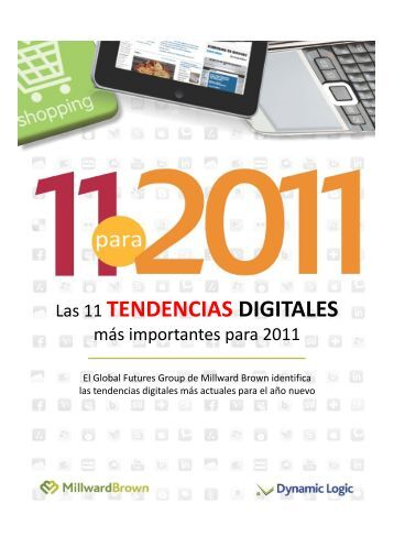 11 Tendencias Digitales del 2011 - Millward Brown