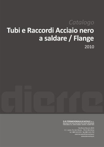 Tubi e Raccordi Acciaio nero a saldare / Flange - dierre shop