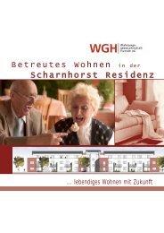 Scharnhorst Residenz Betreutes Wohnen in der - WGH ...
