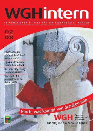 au n . - WGH - Wohnungsgenossenschaft Hameln eG
