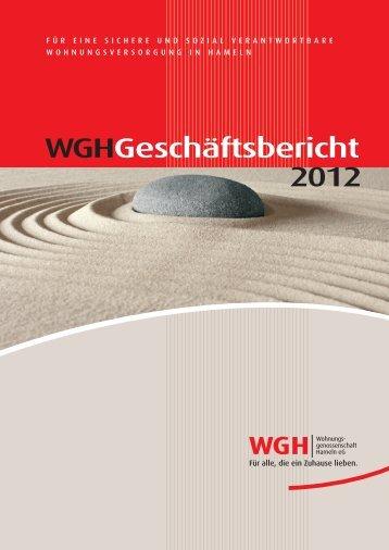 Download PDF (3.0 MB) - WGH - Wohnungsgenossenschaft ...