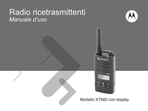 Manuale d'uso - Motorola Solutions