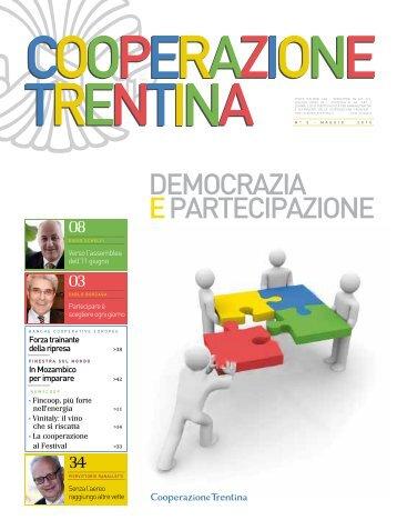 deMOcrAzIA epArtecIpAzIOne - Federazione Trentina delle ...
