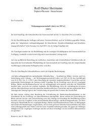 Bilanz und GuV 2012 - Wohnungsgenossenschaft Lehrte von 1907 eG