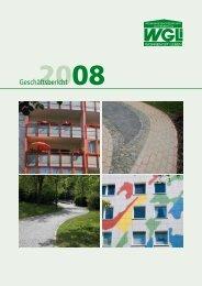 Geschäftsbericht 2008 - WGLi Wohnungsgenossenschaft ...