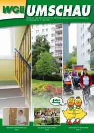 Umschau 1/2011 - WGLi Wohnungsgenossenschaft Lichtenberg eG