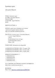 I promessi sposi - Biblioteca Digital da PUC-Campinas