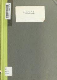 Cola di Rienzo, l'ultimo dei tribuni - University of Toronto Libraries