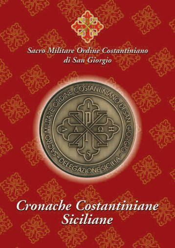 Scarica l'allegato in PDF - Sacro Militare Ordine Costantiniano di S ...